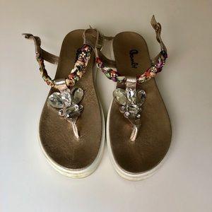 Chrystal sandals 〰️ Walk to tempt! 💎
